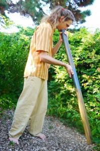 bain sonore au didgeridoo Charles Bousset