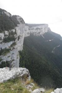 Trek Salam Montagne - Vercors - plateau Sornin - dent du loup - falaises