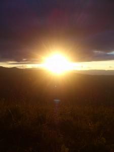 Trek Salam Montagne - Lac du Léat - coucher de soleil