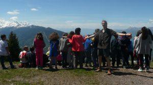 sorties ENS classe primaire belledonne Charles Bousset montagne AMM AEM