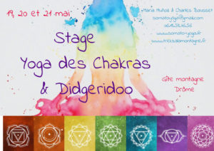stage yoga pentecote chakras didgeridoo Charles Bousset Maria Munoz